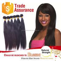 Grade 8A unprocessed 100% virgin indian straight Hair Extension Virgin Human Hair