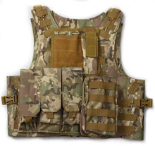 New Outdoor Camouflage Airsoft Tactical Military Combat Assault Tactical Vest