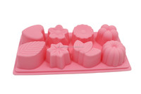 8 shapes silicone cake mould for baking