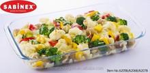 SABINEX France made pyrex glass baking dish glass bakeware baking tray