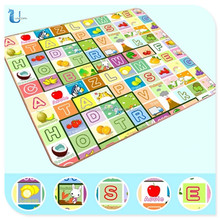 Education And Train Baby Play Mat/Baby Crawling Mat/Baby Play Floor Mat