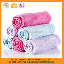 High quality eco friendly 100% natrual bamboo fabric towel