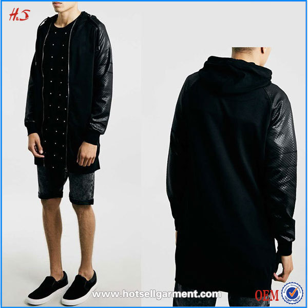 Zip Up Hoodie Without Hood 97