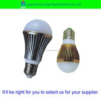 Energy saving high power aluminum best selling e27 led light bulb