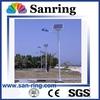 Hot sell list 50w led solar street light with galvanized Q235 pole