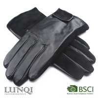 Factory direct sale high-quality fashion warm sheepskin leather gloves
