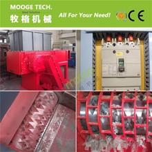 Multifunction automatic plastic shredder grinder crusher machine