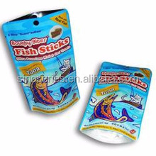 plastic fish sticks packaging pouch