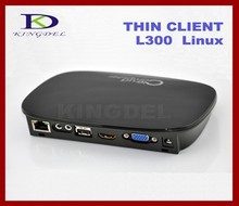 FL300 Thin Client pc station Dual Core 1.0 Ghz A9 CPU 512MB RAM Linux 3.0 Embedded HD, RDP 7.1 Protocol