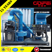 Hot sell in Indonesia waste copper bare electric wire recycling machine
