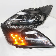 For FORD Focus LED Head Light Angel Eyes 2008-2010 year DB type