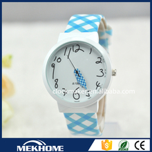girl latest hand leather watch / cheap children watch strap leather