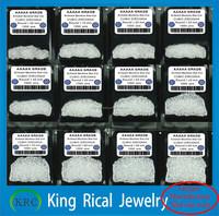 White round diamond cut cubic zirconia signity cz stones