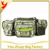 Waist Bag with camouflage canvas and two sides pockets
