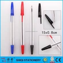 cheap hotel promotional plastic pen with blister or header bag packing
