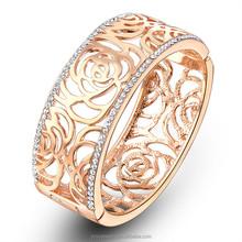 Shinning 22k gold wholesale bangle bracelets