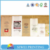 2015 Fancy Custom food grade decorative Fashion wholesale kraft paper bag & craft paper bread bag