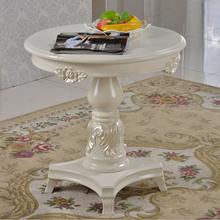 Lounge funiture round wood tea table modern coffee table