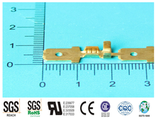 (Rohs approved)2015 free sample male crimping copper/P.B terminal connectors /cable connector