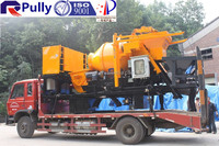 Concrete Mixer Pump with Used Chassis