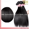 High quality natural color yaki straight humna hair extension cheap weft yak hair