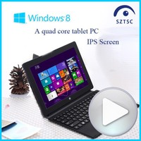OEM Touch Screen Tablet PC Intel Quad Core Z3735F Stock Top Rated 2 in 1 Laptop