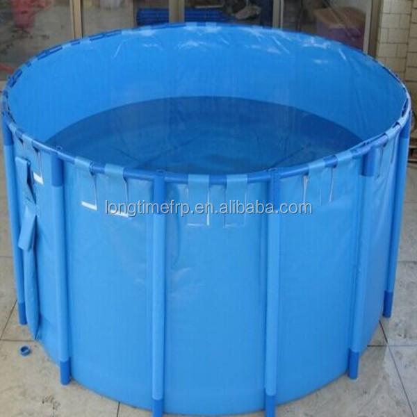 Commercial fish farming tanks images for Aquaculture fish tanks