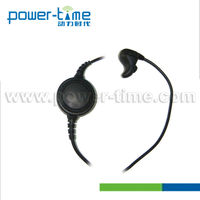 Small radio with earphones Bone Conduction fireman,chemical defense person,SWAT,policemen and operations force