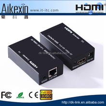 Competitive Price Cat5e/6 Wired HDMI Extender to 60m with Transmitter & Receiver