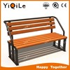 Best selling outdoor park garden chair community wooden bench