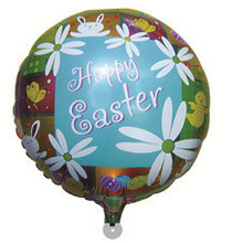 HAPPY TOGETHER Factory Wholesale Popular Happy Easter Helium Balloons
