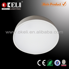 Surface mounted round LED panel lights 12w China factory