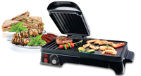 Electric table top Grill with Mulitfunction food cooking
