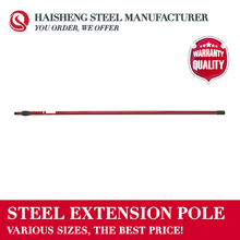 TWO SECTION STEEL EXTENSION POLE WITH THREAD TIP AND TAPER ADAPTER