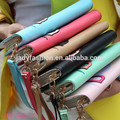2014 elegancia facción europa estilo coreano venta al por mayor bolsa de color bump búho cartera monedero