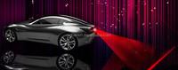 anti collision LED auto laser fog light waning lamp