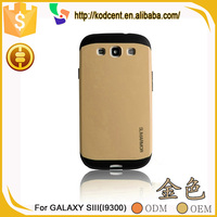Cute fancy unbreakable cell phone slim armor case for samsung galaxy s3