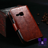 Mobile phone bag wallet PU Leather Case for Samsung Galaxy young s6310 With Stand Card Holder