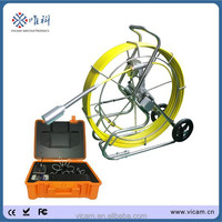 600tvl color CCD auto-levelling pipe inspection camera with 8 inch lcd screen