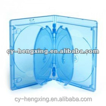 22mm PP Blue Ray unique blue ray CD Case for 6 discs
