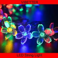 SLS-SK High quality waterproof christmas yard decorative led solar string christmas fairy lights