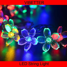 SLS-SK High quality waterproof christmas yard decorative led solar string christmas fairy lights
