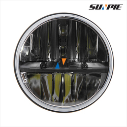 """Highest Quality & Newest 40W led c ree motorcycle headlights with 7"""" led head light"""