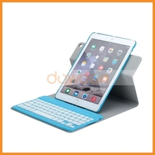 New Detachable Can Fission Bluetooth Keyboard For iPad Air2 Case Flip Cover Leather Stand Function