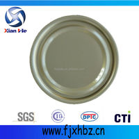 easy open tinplate small round tin can lids