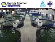 Cristal forrado atornillado acuicultura tanques