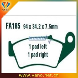 Genuine FA185R sintered ebc brake pads for motorcycle atv