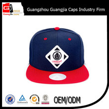 high quality Manufacturer 6 panel flat brim snapback cap and hat