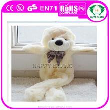 Many Fashion Plush bear coat toys hot selling