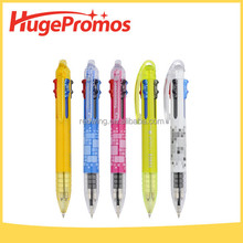 Promotional Color Cartoon Plastic Rocket Pen